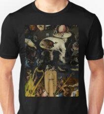 Der Garten der Lüste von Hieronymus Bosch Slim Fit T-Shirt