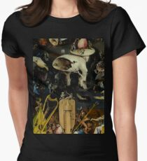 The Garden of Earthly Delights by Hieronymus Bosch Fitted T-Shirt