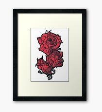 The Rose. Framed Print