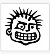 MxPx Logo Face Sticker
