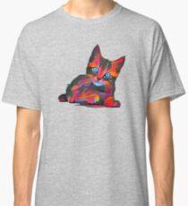 Cute Rainbow Kitten Classic T-Shirt