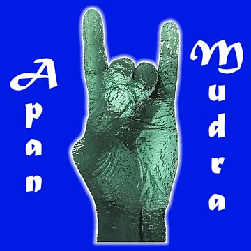 Apan Mudra - The Gesture of Energy by Dee-Vigga