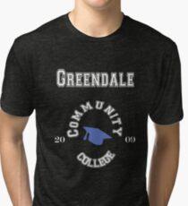 Commuinity- Greendale College Tri-blend T-Shirt