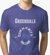 Commuinity- Greendale College Tri-blend T-Shirt