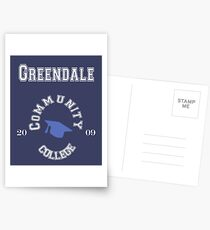 Commuinity- Greendale College Postcards
