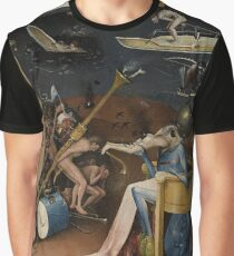 Insight Into Hell by Hieronymus Bosch Graphic T-Shirt