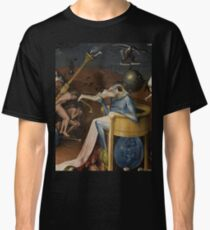 Insight Into Hell by Hieronymus Bosch Classic T-Shirt