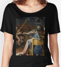 Insight Into Hell by Hieronymus Bosch Women's Relaxed Fit T-Shirt