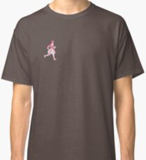 CANDY CANDY RUN light pink with a boarder Classic T-Shirt