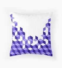 Bloch-Blue Throw Pillow