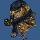 Sherlock // owl by AnnaShell