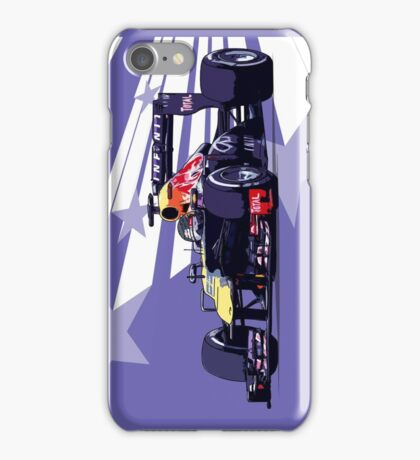 Championship Cars - Vettel 2013 iPhone Case/Skin