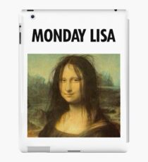 Gioconda Monday iPad Case/Skin