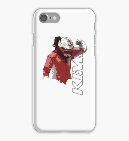 Kimi Raikkonen (WDC 2007) iPhone Case/Skin