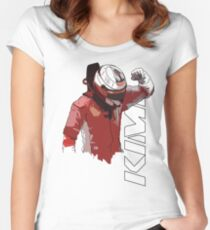Kimi Raikkonen (WDC 2007) Women's Fitted Scoop T-Shirt