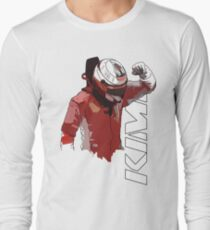 Kimi Raikkonen (WDC 2007) Long Sleeve T-Shirt