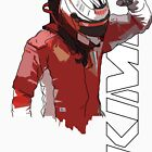 Kimi Raikkonen (WDC 2007) by Tom Clancy