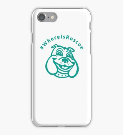 #WhereIsRoscoe (Team Colours) iPhone Case/Skin