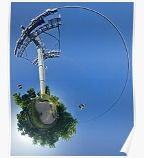 Cable car at Floriade 2012 Poster
