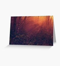 Mists of Heaven Greeting Card