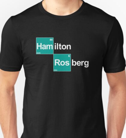 Team Hamilton Rosberg (black T's) T-Shirt