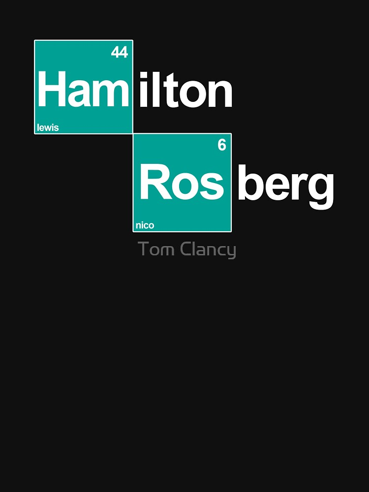 Team Hamilton Rosberg (black T's) by RetroLink