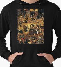 The Fight by Hieronymus Bosch Lightweight Hoodie