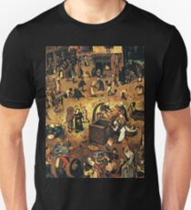 The Fight by Hieronymus Bosch Unisex T-Shirt