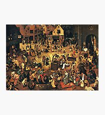 The Fight by Hieronymus Bosch Photographic Print