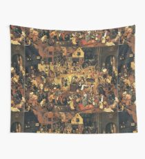 The Fight by Hieronymus Bosch Wall Tapestry
