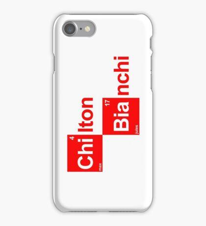 Team Chilton Marussia (white T's) iPhone Case/Skin