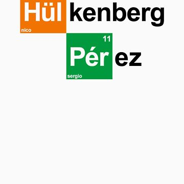 Team Hulkenberg Perez (white T's) by RetroLink