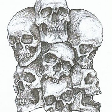 Skull tower by kandikittin