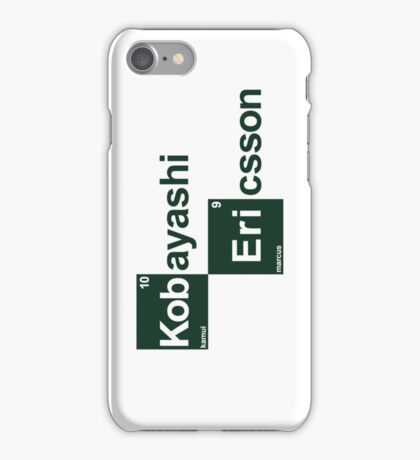 Team Kobayashi Ericsson (white T's) iPhone Case/Skin