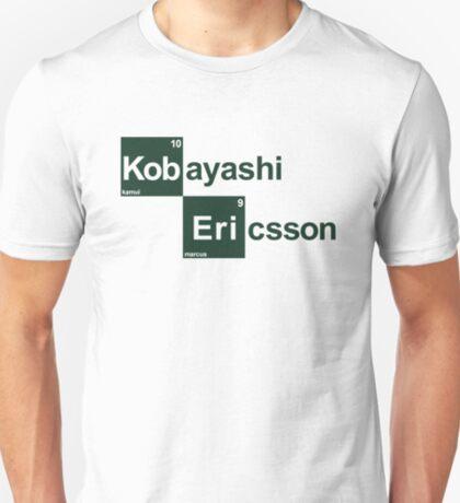 Team Kobayashi Ericsson (white T's) T-Shirt