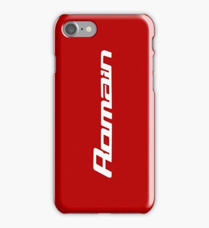 Romain Grosjean iPhone Case/Skin