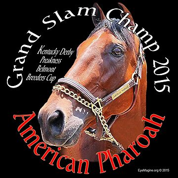 American Pharoah Grand Slam Champ by EyeMagined