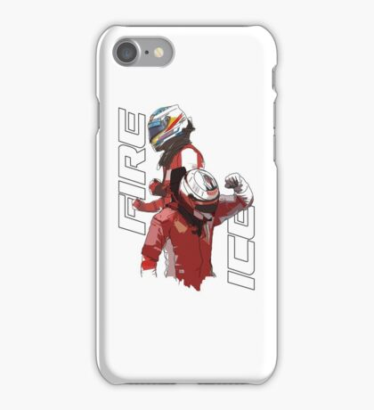 Alonso & Kimi (Fire & Ice) iPhone Case/Skin