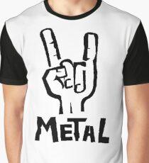 METAL Graphic T-Shirt