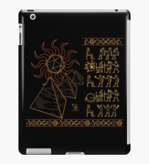 Ancient Tablets of Roleplaying Knowledge iPad Case/Skin