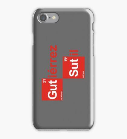 Team Sutil Gutierrez (white T's) iPhone Case/Skin