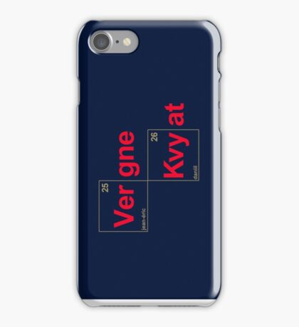 Team Vergne Kvyat iPhone Case/Skin