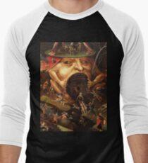 Einblick in die Hölle 3 von Hieronymus Bosch Baseballshirt mit 3/4-Arm
