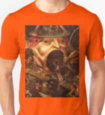 Insight into Hell 3 by Hieronymus Bosch T-Shirt