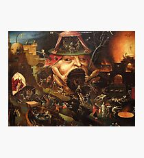 Insight into Hell 3 by Hieronymus Bosch Photographic Print