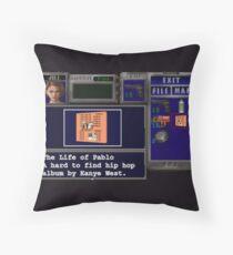 Resident Evil 3 x Hip Hop Throw Pillow