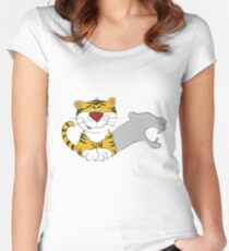 Baby tiger Women's Fitted Scoop T-Shirt