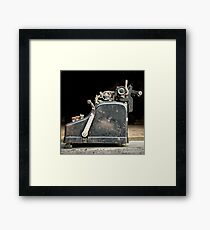 Machine  Framed Print