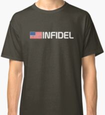 Vintage American Infidel Classic T-Shirt