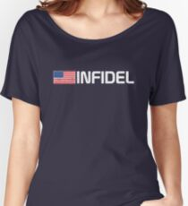 Vintage American Infidel Women's Relaxed Fit T-Shirt